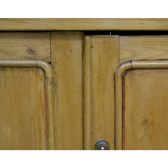 Country Pine and Beech Chiffonier For Sale - Image 10 of 10