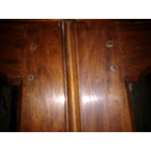 1930's Tropical Plantation Harvest Table Rosewood & Ebony Cabinet For Sale - Image 10 of 13