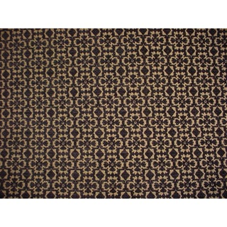 Lee Jofa Connaught Chenille Black Coal Celtic Upholstery Fabric- 15 Yards For Sale
