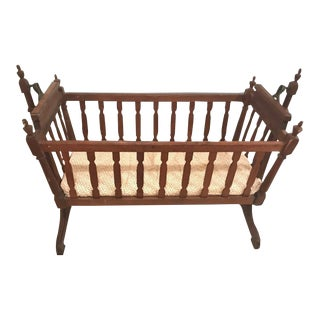 1920s Traditional Swing Crib For Sale