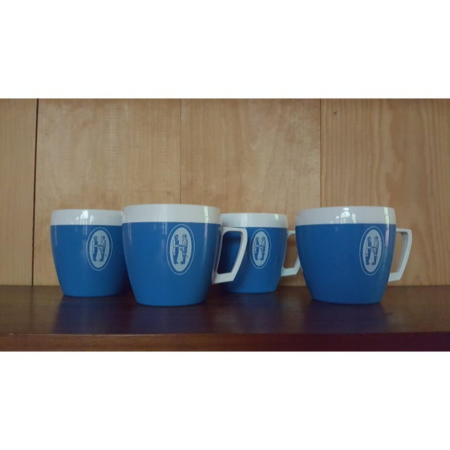 Vintage Coffee Cups - Set of 4 - Image 2 of 6