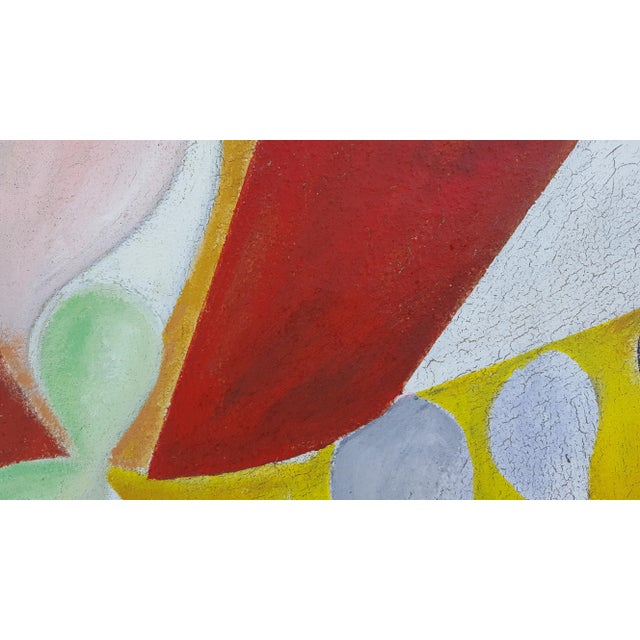 1977 Intermezzo Abstract Painting By Chester T. Kuziora - Image 11 of 11