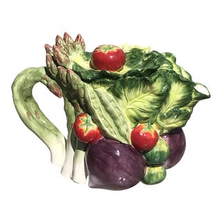 Fitz and Floyd Classics Le Marche Vegetable Harvest Teapot For Sale
