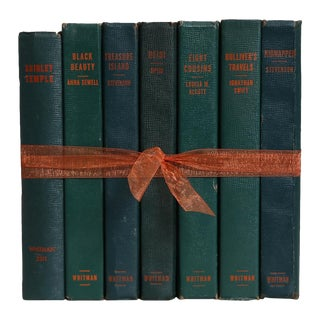 Children's Vintage Book Gift Set: Forest Classics, S/7 For Sale