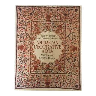"""American Decorative Arts"" 1982 First Edition Abrams Art Book For Sale"