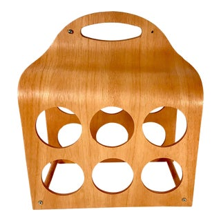 Vintage Bentwood Wine Rack For Sale