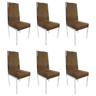 Modern Dining Chairs - Set of 6 For Sale