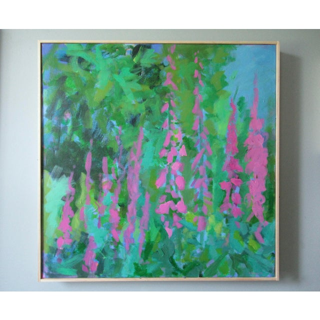 Anne Carrozza Remick Foxglove by Anne Carrozza Remick For Sale - Image 4 of 6
