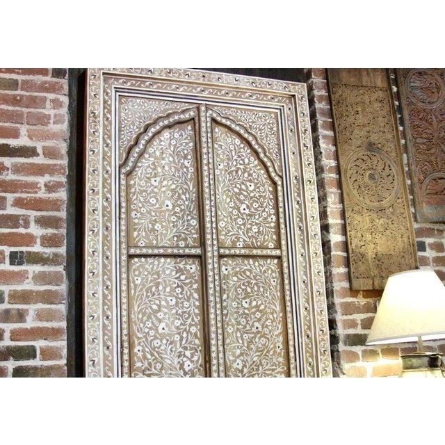 Bone Inlay Arched Window Panel - Image 5 of 5
