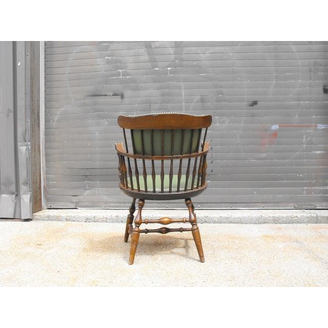 Nichols & Stone Arm Chairs - Set of 4 - Image 4 of 8