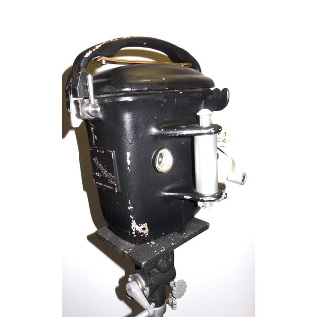 Mid 20th Century Bolex Underwater Cinema Camera Housing With Tripod, Vintage, Classic, Sculpture For Sale - Image 5 of 13