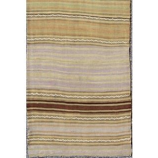 Vintage Turkish Kilim Flat-Weave Runner-2'4 X 10'1 Preview