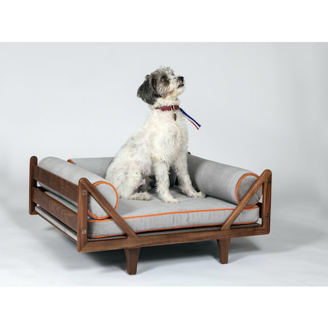 Studio Van den Akker The Charles Dog Bed by Studio Van Den Akker For Sale - Image 4 of 5