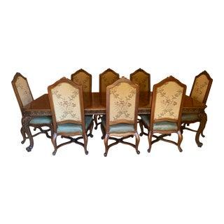 Tuscan Henredon Alfresco Dining Set - 11 Pieces For Sale