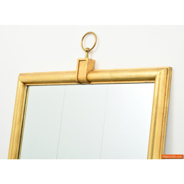 Contemporary Large Tommi Parzinger Mirror For Sale - Image 3 of 10