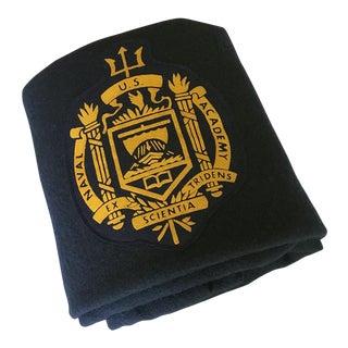 Naval Academy Wool Blanket