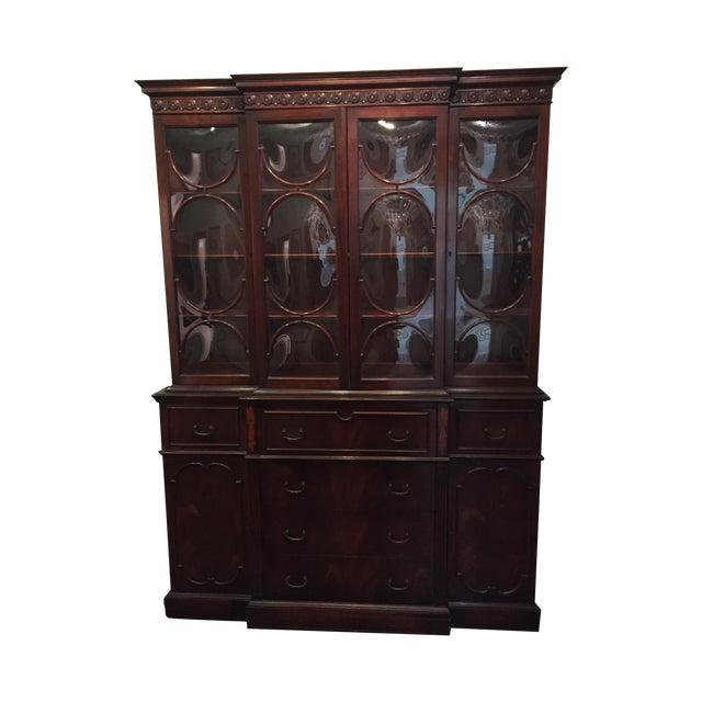 Vintage Mahogany China Cabinet - Image 1 of 10