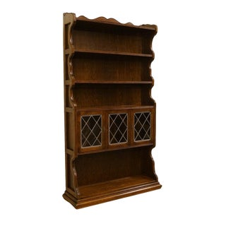 Ethan Allen Royal Charter 48″ Bookcase Library Wall Unit For Sale