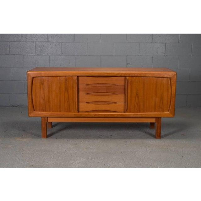 Danish Modern Teak Sideboard For Sale - Image 10 of 10