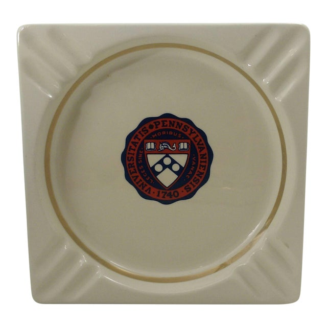 Vintage University of Pennsylvania Ceramic Ashtray - Catchall - Coin Dish - Image 1 of 6