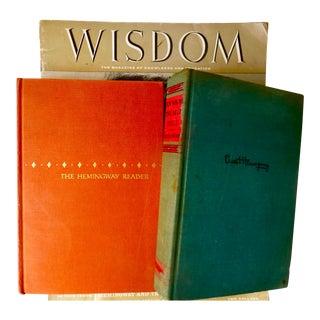 Vintage Hemingway Books - Set of 3 For Sale