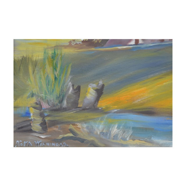 California Delta Farm Painting - Image 4 of 4
