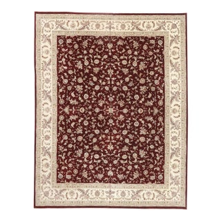 Vintage Chinese Persian Style Rug, 12'00 X 15'04 For Sale