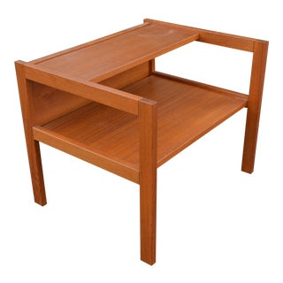 1970s Danish Modern Bornholm Møbelfabrik Teak Side Table For Sale