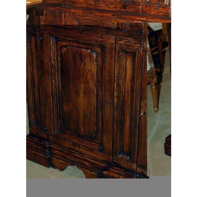 Early 19th Century Italian Elm Baroque Cabinet For Sale In San Francisco - Image 6 of 7