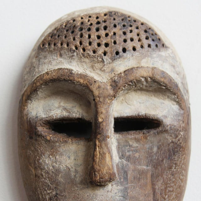 Carved Wooden Lega Origal Mask - Image 3 of 3