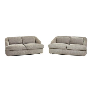 Interior Crafts Settees, Circa 1970's - a Pair For Sale