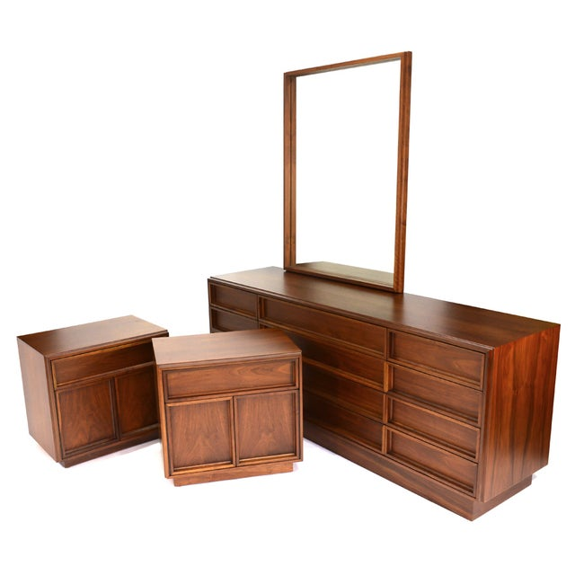 Bedroom Set by John Keal for Brown Saltman - Image 1 of 7