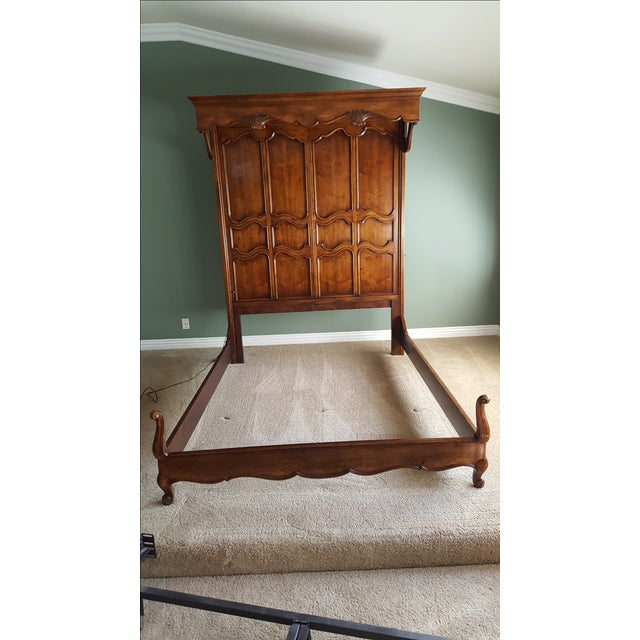 Henredon French Country Queen Bed - Image 3 of 9