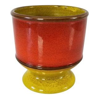 Vintage Italian Ceramic Bowl / Vase For Sale