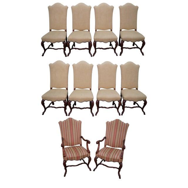 Alfonso Marina Treviso Mahogany Dining Chairs - 10 - Image 1 of 10