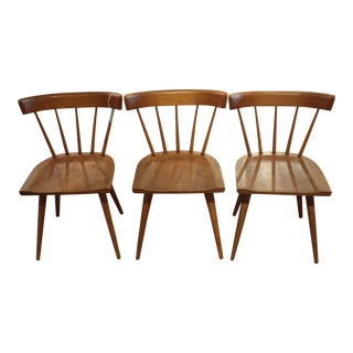 Mid-Century Paul McCobb for Winchendon Spindle-Back Planner Group Chairs - Set of 3 For Sale