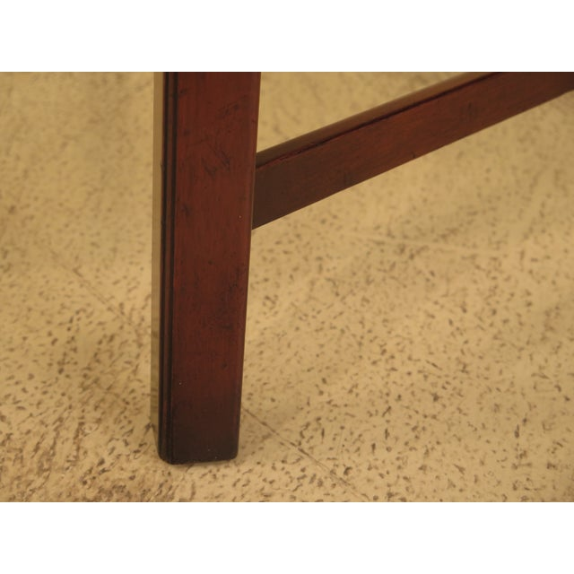 Kittinger Chippendale Mahogany Butler Coffee Table - Image 5 of 11