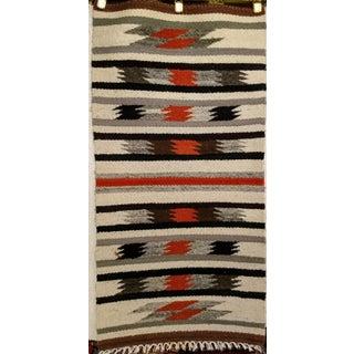 "Vintage Navajo Handmade Tribal Rug - 1'8"" X 3'3"" Preview"