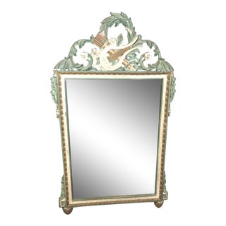 Louis XVI Style Carved Mirror For Sale
