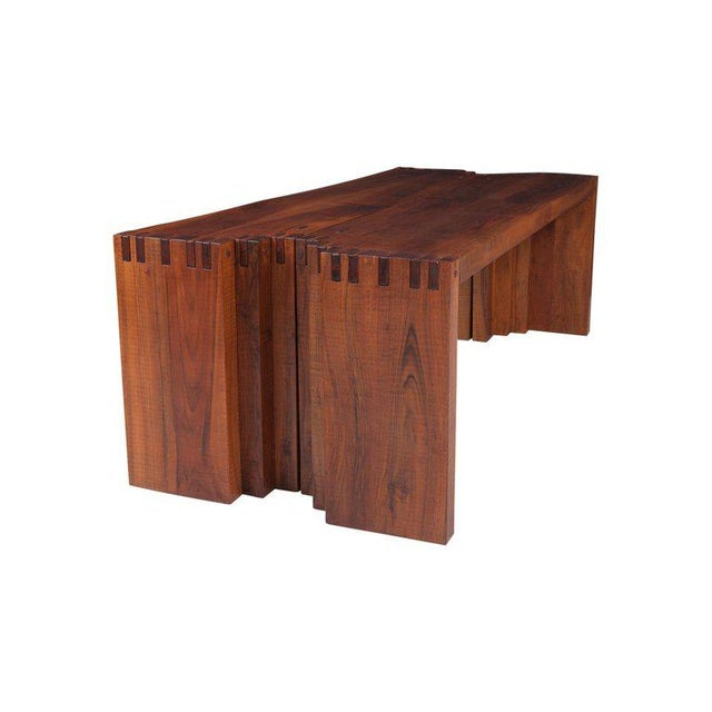 Wood Rivadossi Hardwood Dining or Console Table For Sale - Image 7 of 13