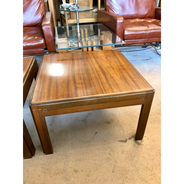 Mid-Century Modern 20th Century Danish Mahogany End Tables - a Pair For Sale - Image 3 of 9