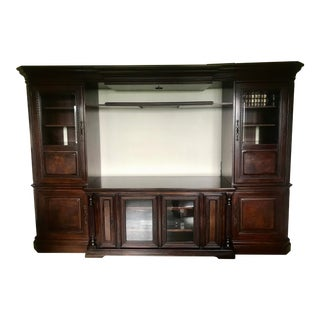 Hooker Furniture Entertainment Wall Unit For Sale
