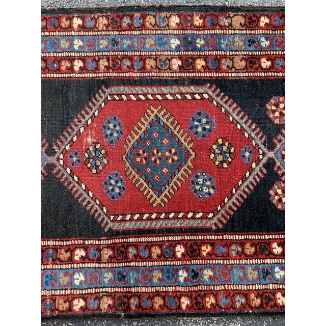 Boho Chic Tribal Long Gallery Size Runner Rug - 3′1″ × 17′5″ For Sale - Image 3 of 13