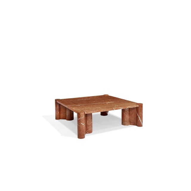Brutalist Brutalist Gae Aulenti for Knoll Jumbo Table For Sale - Image 3 of 7