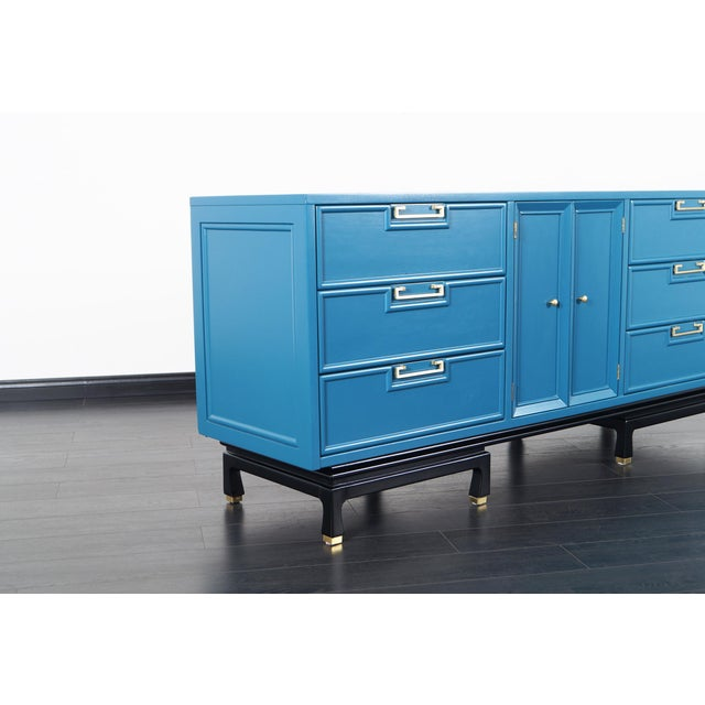 1960s Vintage Lacquered Dresser by American of Martinsville For Sale - Image 5 of 9