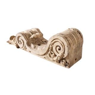 Antique Decorative Terracotta Corbel For Sale