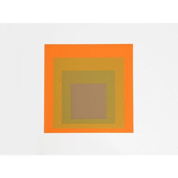 "Josef Albers ""Portfolio 2, Folder 19, Image 1"" Print For Sale"