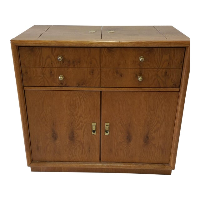 Stanley Mid-Century Rolling Bar - Image 1 of 7