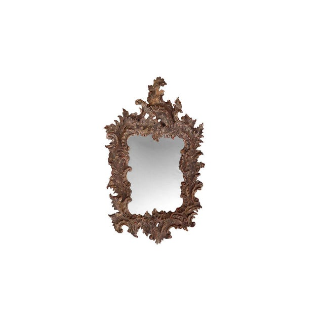19th Century Antique Gessoed Mirror For Sale - Image 5 of 5