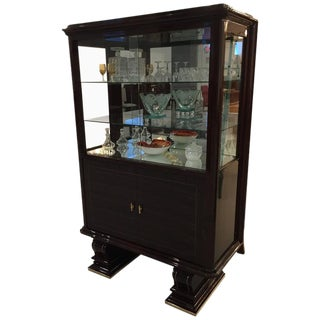 French Art Deco Display Cabinet For Sale